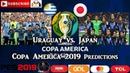 Uraguay vs. Japan | Copa America Brasil 2019 | Group C Predictions PES 2019