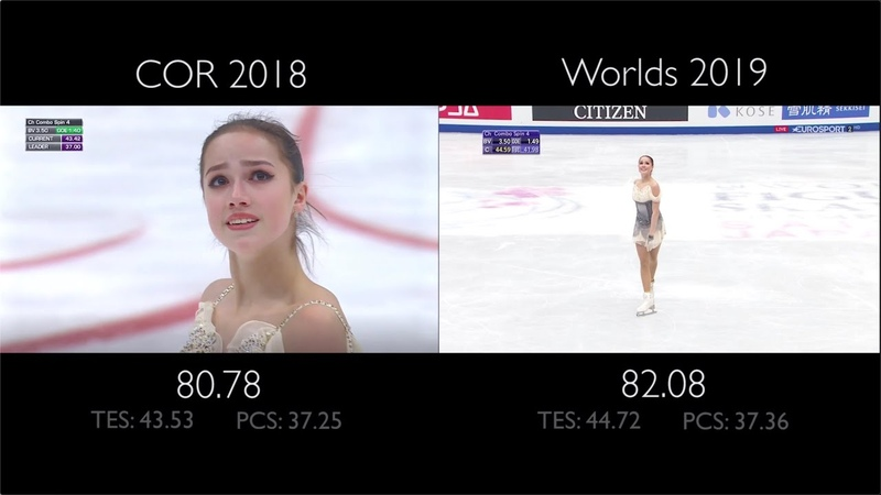 Alina Zagitova SP - Phantom of the Opera | COR vs Worlds