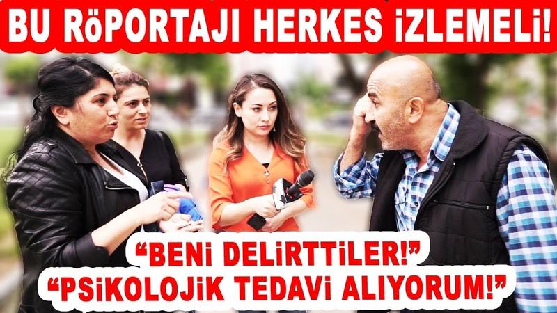 Bana AKPyi Sorma! Ağzımı Bozarım! dedi... Ağzına Geleni Söyledi!