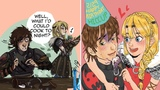How To Train Your Dragon HTTYD Comic Hiccstrid When Astrid COOKING!!