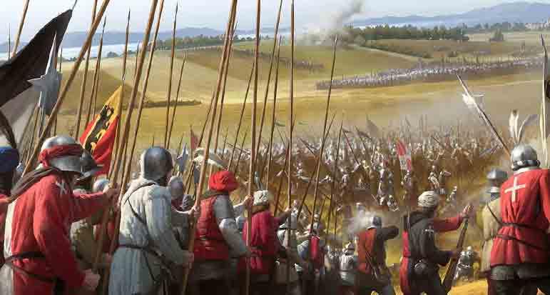 Швейцарцы против рыцарей