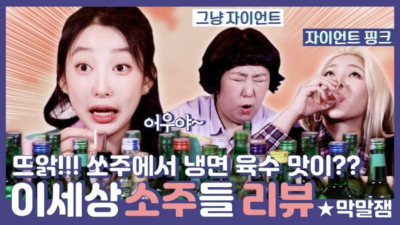 [ENG SUB] 혜린x자이언트핑크x신기루의 전국 팔도 소주 미식회! (feat. 미국 소주) I 매일49