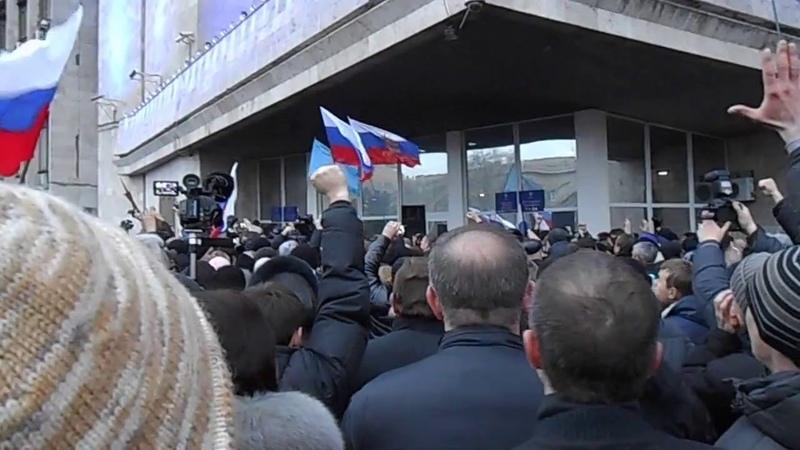 2014- 03- 01_ 16 45 30 Русская весна в Донецке.