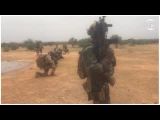 Groupement commandos parachutistes (gcp). barkhane .