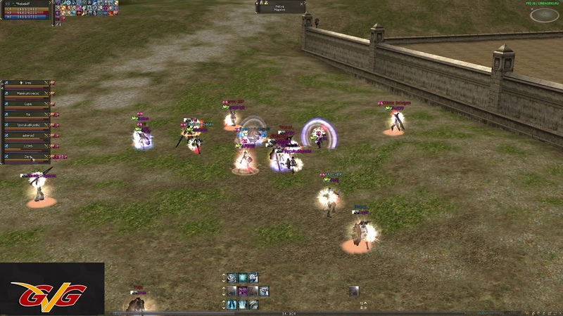 Lineagers.ru gvg Fight