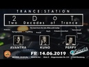 ♫ KUNOs Uplifting Trance Hour live at TRANCE STATION 2DoT Duisburg 2019 june 14
