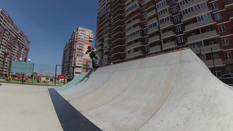 Тест USD Carbon в местном скейтпарке