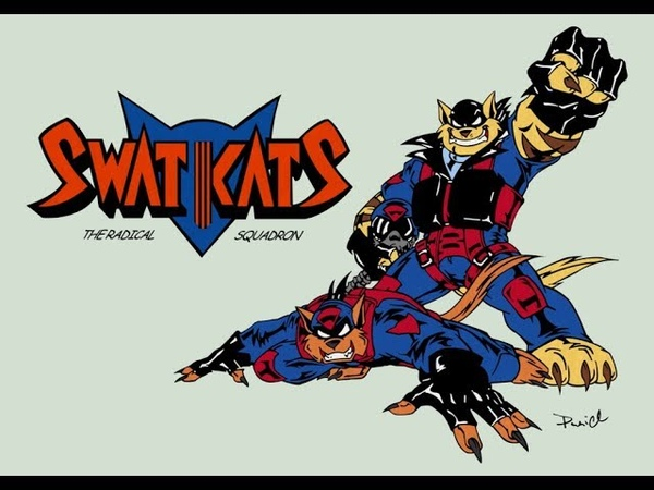 Коты быстрого реагирования (1993-1995 гг.) [Заставка]