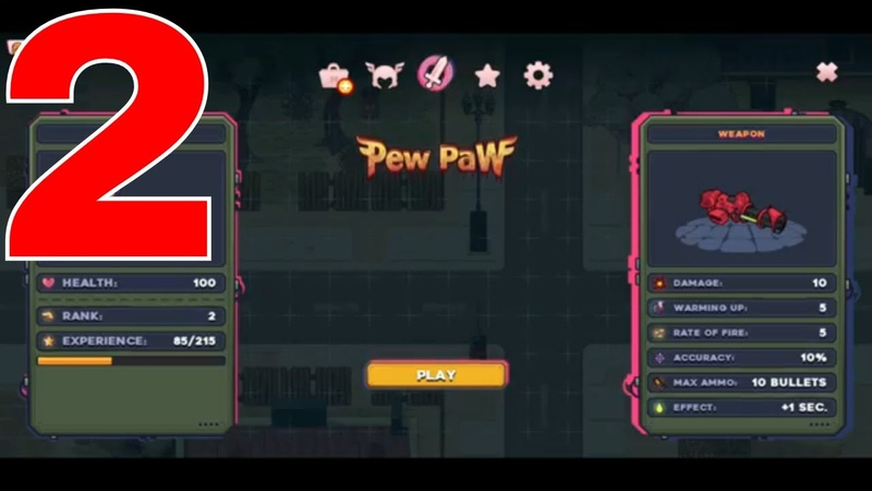 Pew Paw - Zombie survival IOS-Android-Review-Gameplay-Walkthrough-Part 2