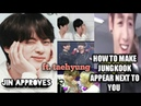 Jungkook a little more possessive about taehyung jin approves(vkook taekook moments analysis)