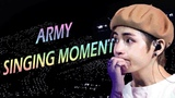 BTS &amp ARMY SINGING TOGETHER COMPILATION  KPOP ASIAN KING