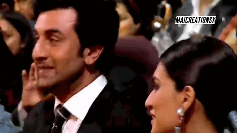 Крити Санон и Ранбир Капур на церемонии награждения Zee Cine Awards