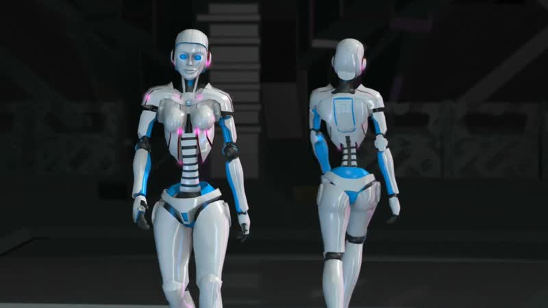 HUMANOID MODELS FASHION SHOW CREATED BY THIERRY CASTARD FOR CANNES FASHION FILM FESTIVAL 2019