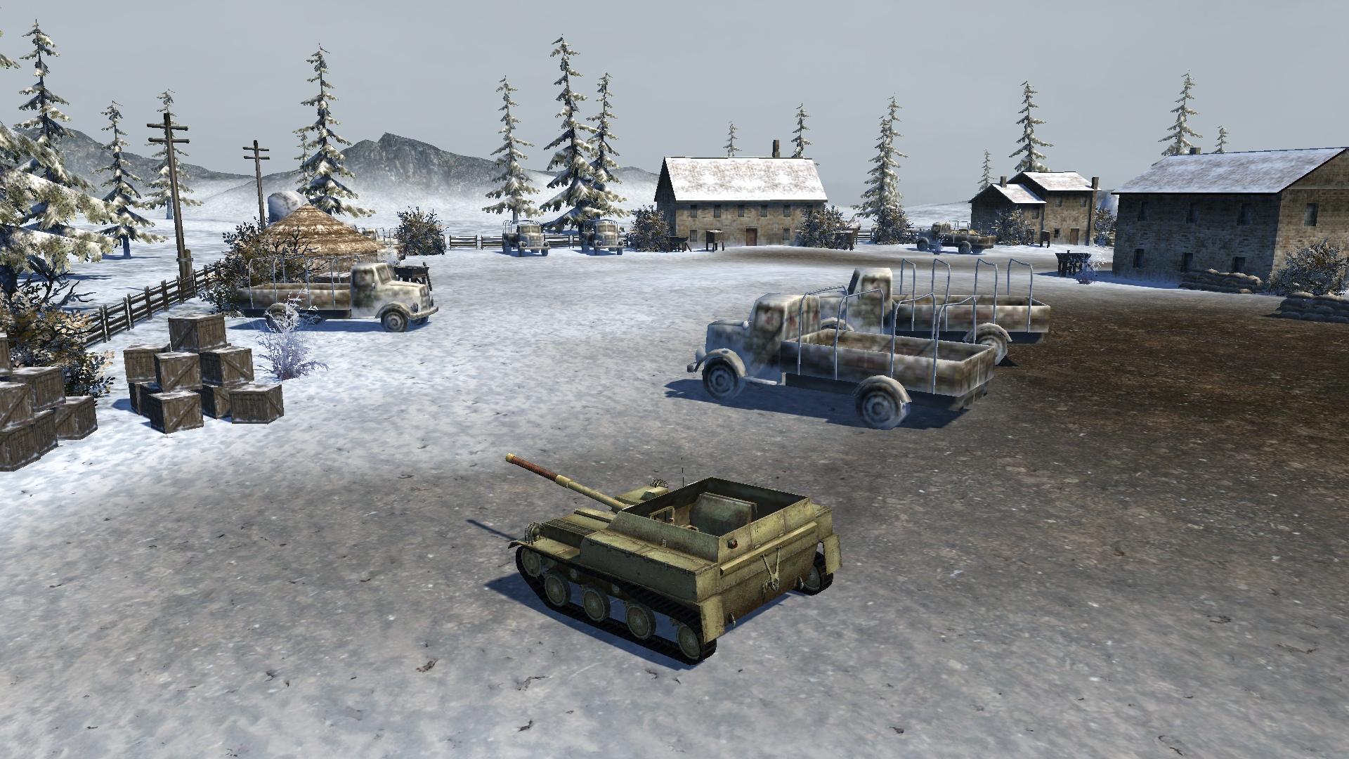 Игровая модель САУ АСУ-57 из игры Ground War: Tanks