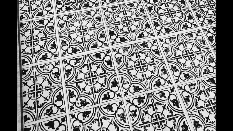 IOD Decor Stamped™ Tile Entry Makeover!