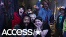The 'Stranger Things' Kids And Jimmy Fallon Freak Out Fans At Wax Museum! | Access