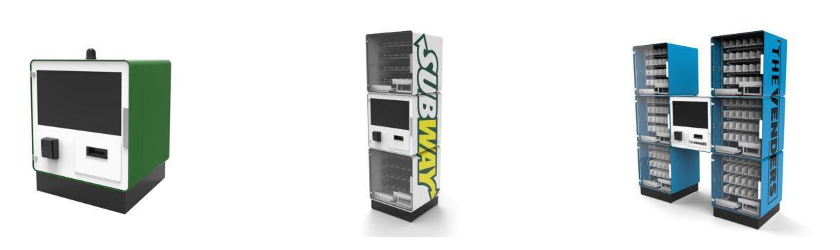 Модульный вендинг автомат
