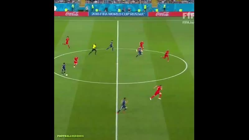 Япония против Бельгии на ЧМ 2018