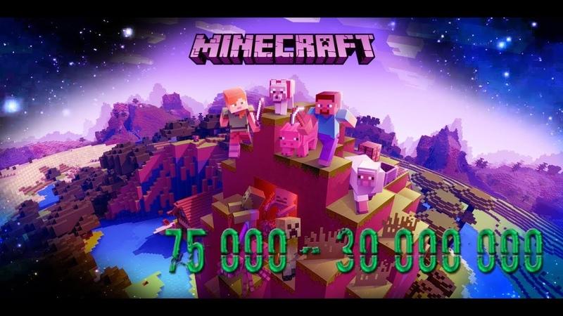 Minecraft Challenge WORLD END 3 NO CHEATS [52k - 75k]