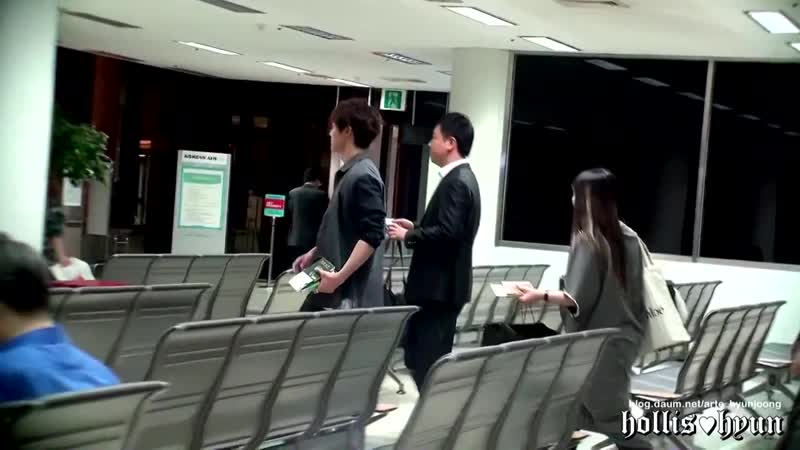 2012/10/03 Kim Hyun Joong(김현중)-Gimpo Haneda for City Conquest Promotion