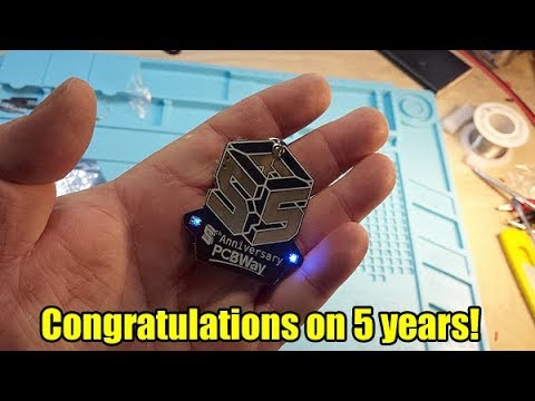 PCBWAY 5th anniversary Coupons and Giveaways