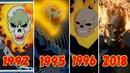Эволюция Призрачного Гонщика 1981-2018