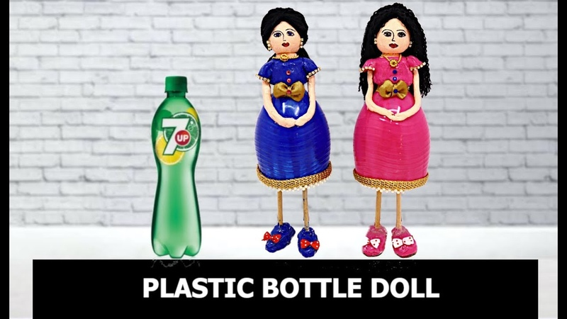 Plasticbottledolls BestOutOfWaste Handcraft DIY Handmade Doll Making Tutorial Aloha Crafts