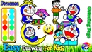 5 Compilation Doraemon Coloring | Fun Painting For Toddlers And Drawing For Kids