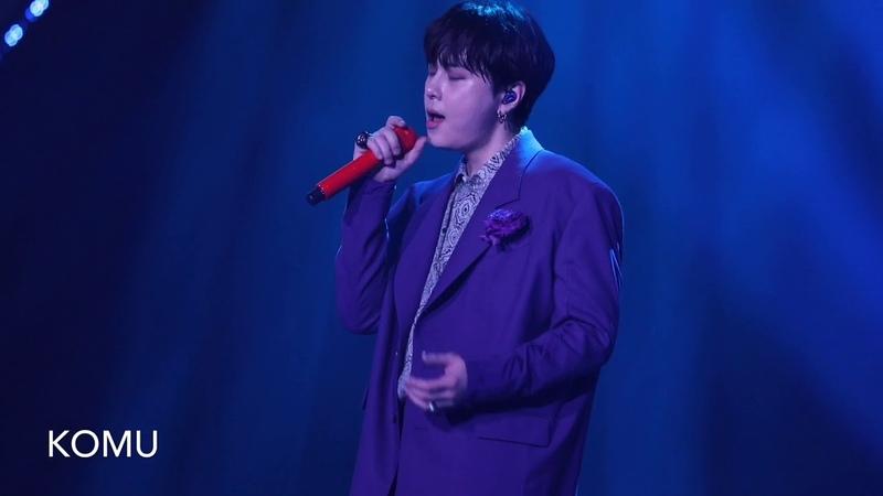 [Fancam]190201 망설이지 마요 (Don't hesitate) YONG JUNHYUNG LIVE 2019 GOODBYE 20'S 용준형
