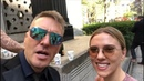 """Krzysztof Gojdź MD, PhD on Instagram """"Scarlett Johansson - So sweet and modest. Drinking champaign and chat was an amazing time for me. Impressed,..."""