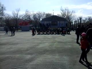 Казахстан село Аулиеколь 1 мая праздник День Единства народов Казахстана
