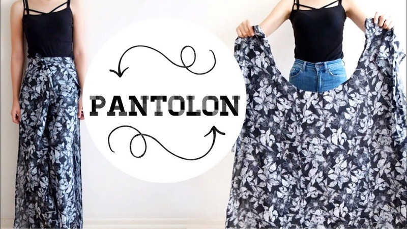 DÜNYANIN EN TUHAF PANTOLONU ! ÇOK BASİT ETEK PANTOLON