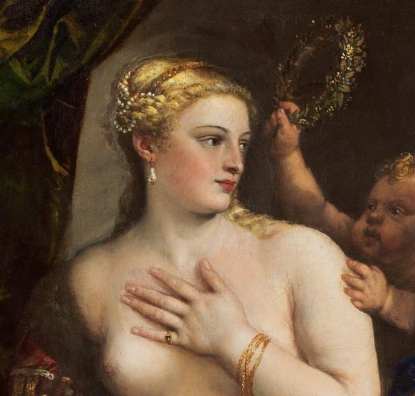 « одного шедевра». «Венера с зеркалом», Тициан