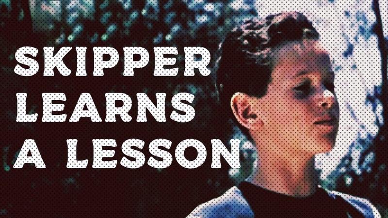 Skipper learns a lesson   1952
