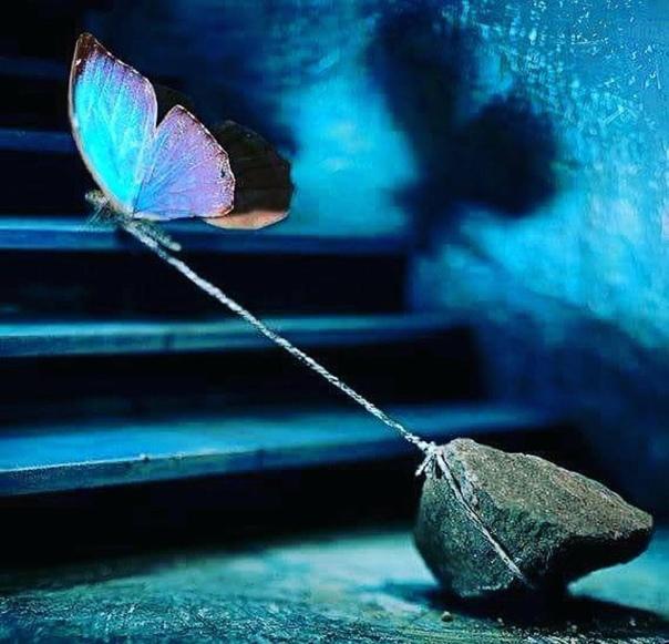 Если постоянно не продвигаться вперед, прошлое будет тянуть назад. Прошлое ведет себя как мощный вихрь, засасывающий внутрь, который все время тянет человека обратно.