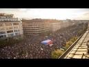 В Праге прошла антиправительственная демонстрация