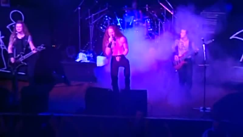 Iced Earth Melancholy Holy Martyr Alive in Athens