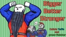 Bigger Better Stronger Meme DRAW CHILLY Collab
