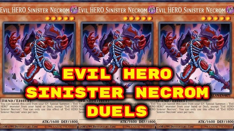 Yugioh - Evil Hero Duels (Feat. Evil Hero Sinister Necrom)