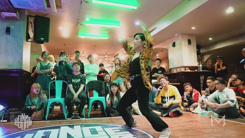 Jojo vs Yuming (CHN) | Waacking Top 8 | Dance Collab vol. 3