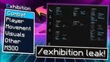 Exhibition Leak СУПЕР ТОПОВЫЙ ЧИТ НА Minecraft ФАНТАСТИЧЕСКАЯ KillAura Нереальный LongJump