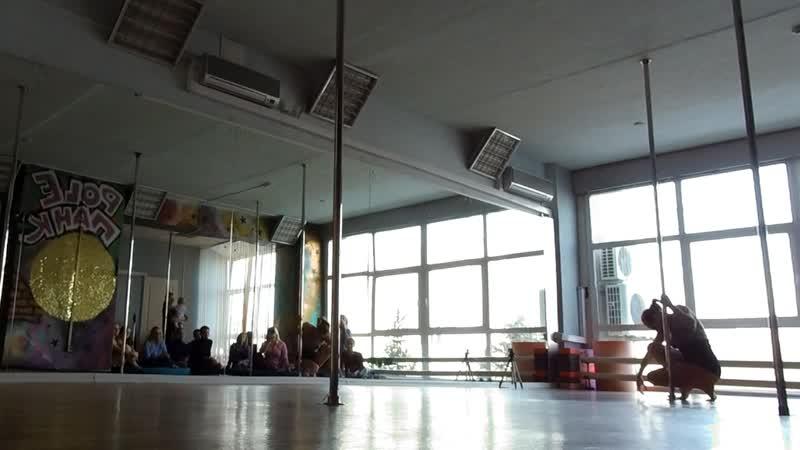 Рole acrobatic Pole PANK Dance studio Pole dance Омск