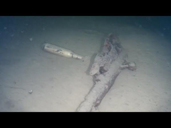 Подводный поиск затонувших объектов, раскопки на дне Озера с Gladius Mini