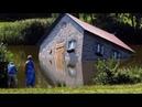 Соседи были в шоке когда узнали из ЧЕГО построили этот дом!