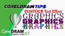 Special Effect with Contour Tool in CorelDRAW X7 Urdu and Hindi By YouTube