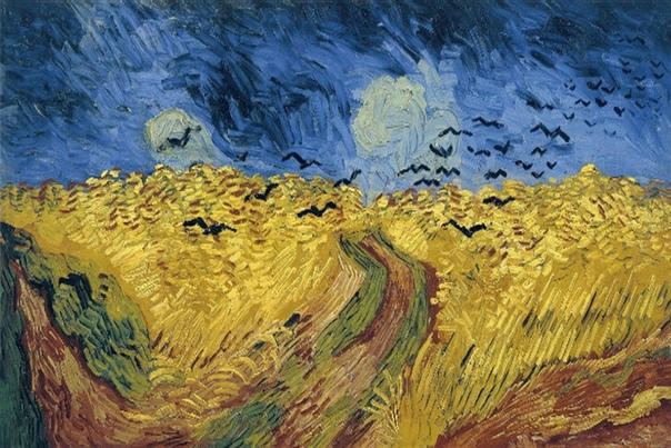 Ван Гог: Золото и лазурь / Пшеничные поля и облачное небо