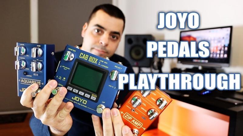 JOYO R-Series Pedals   Playthrough