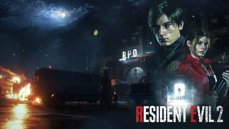Resident Evil 2! За Клэр! Зомби и Т-вирус в ремастере! ч.8