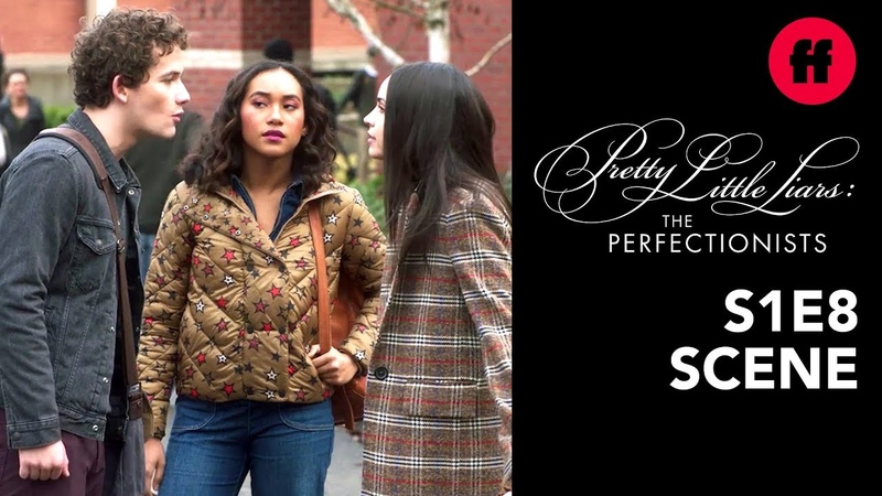 Pretty Little Liars The Perfectionists | Season 1, Episode 8 Dylan Ava Fight | Freeform