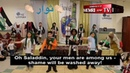 Children in Philadelphia Muslim Society We Will Sacrifice Ourselves for Al Aqsa